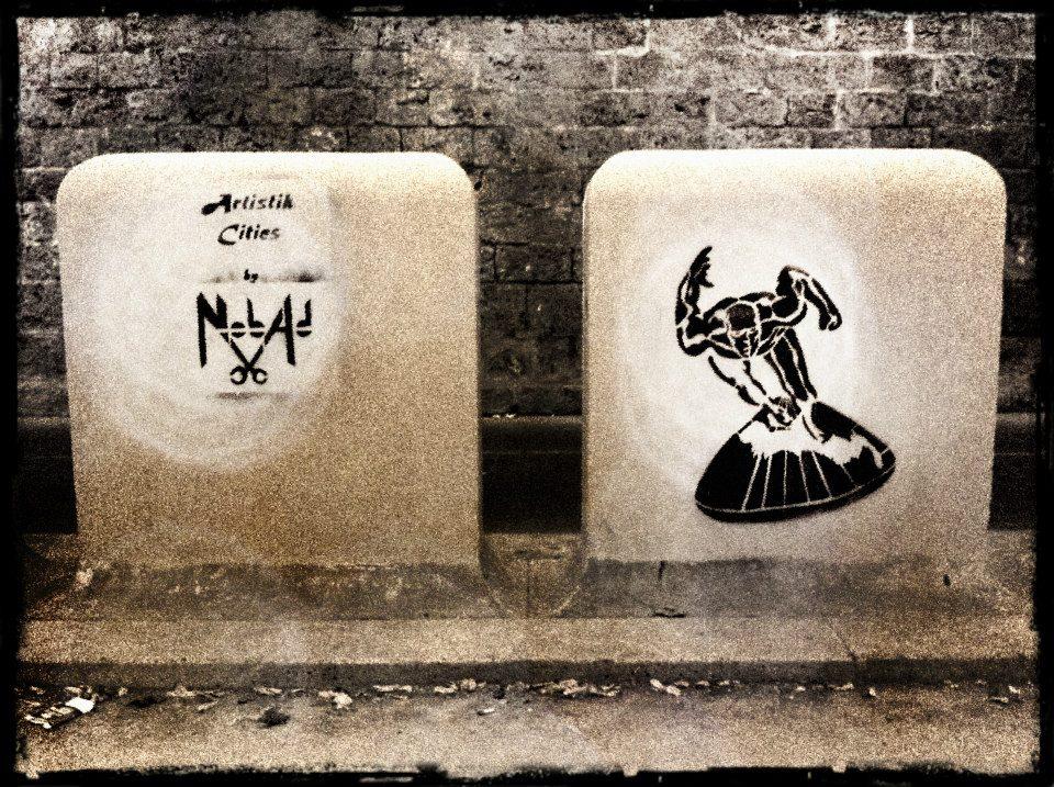 nobad nicolas obadia artistik city pochoir le dernier etage magazine street art