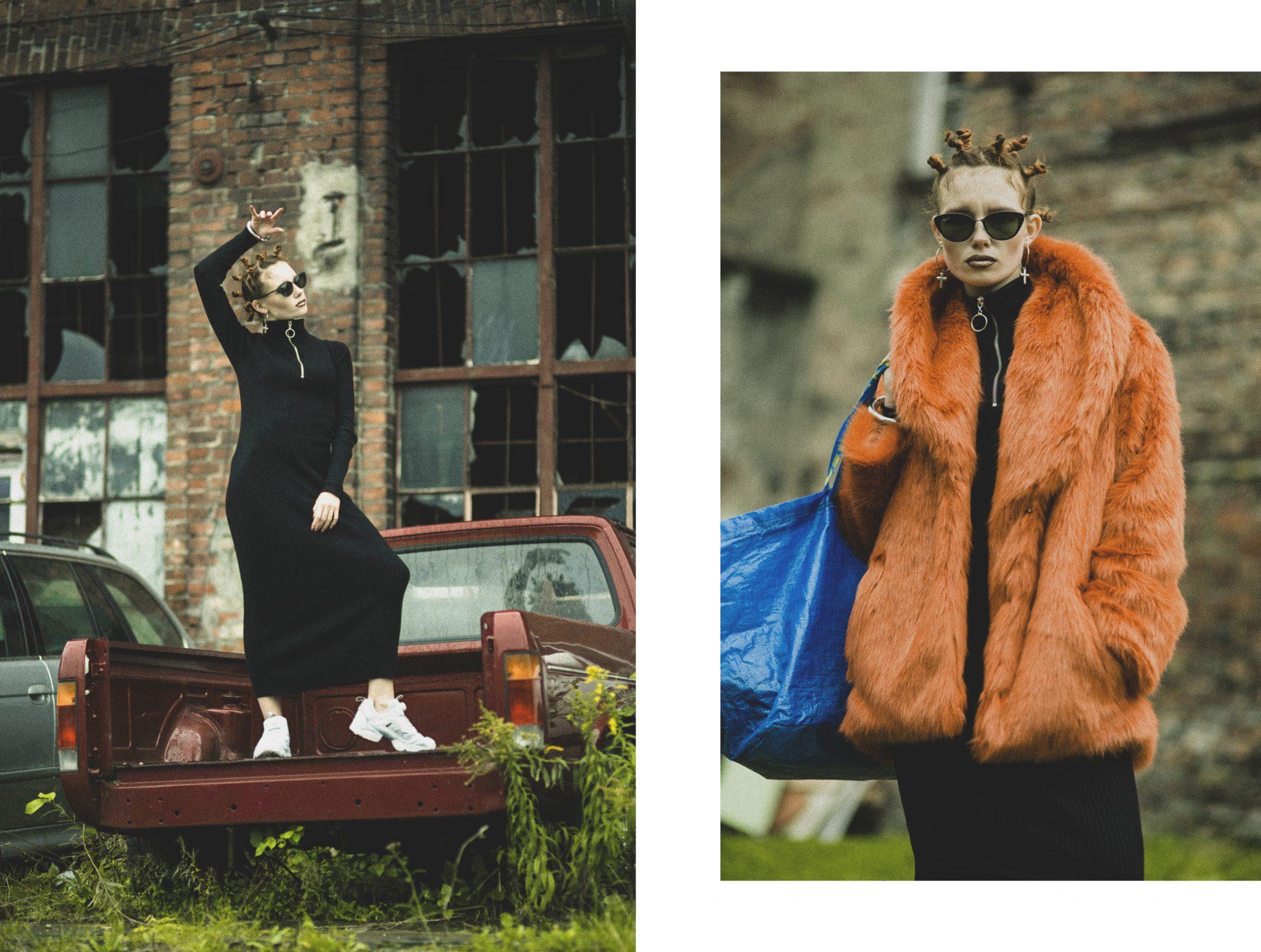 red or blue pill ? matrix fashion story le dernier etage magazine editorial webditorial magazine Karolina Orzechowska photography