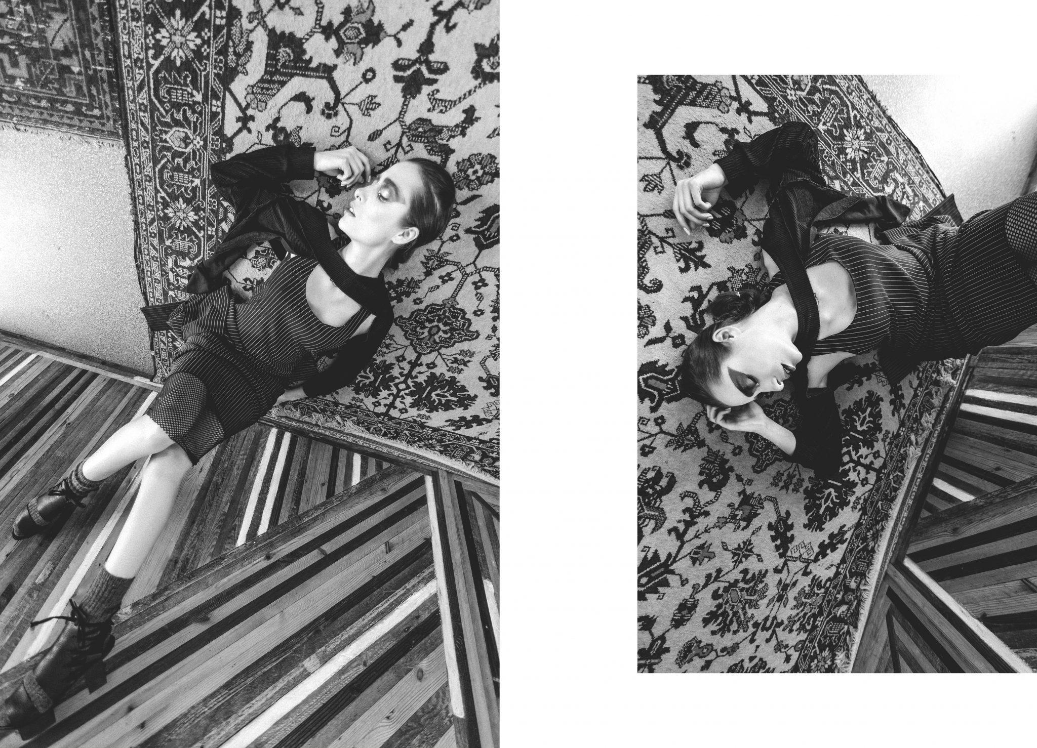 nomad fashion story editorial webditorial le dernier etage magazine webzine shooting Karolina Orzechowska