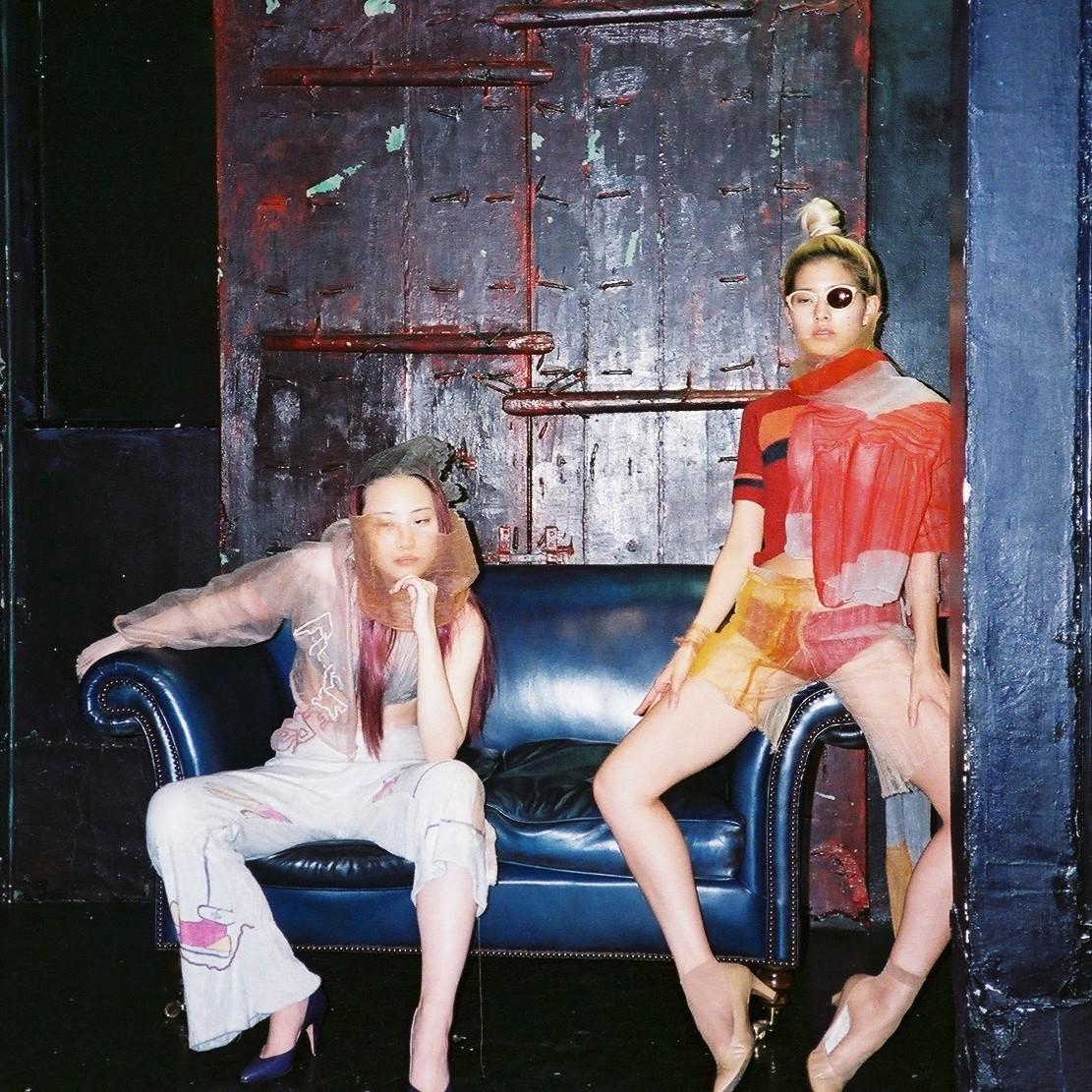 illusion of surroundings ceilne bouaziz spaceman collection edito fashion story le dernier etage magazine webditorial