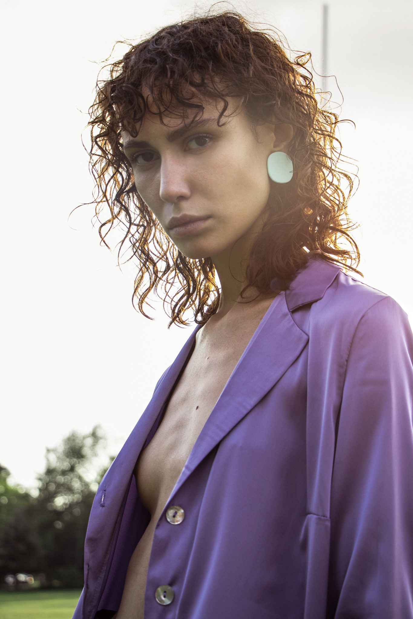 Anja Lazar balaban le dernier etage magazine fashion editorial story webditorial model