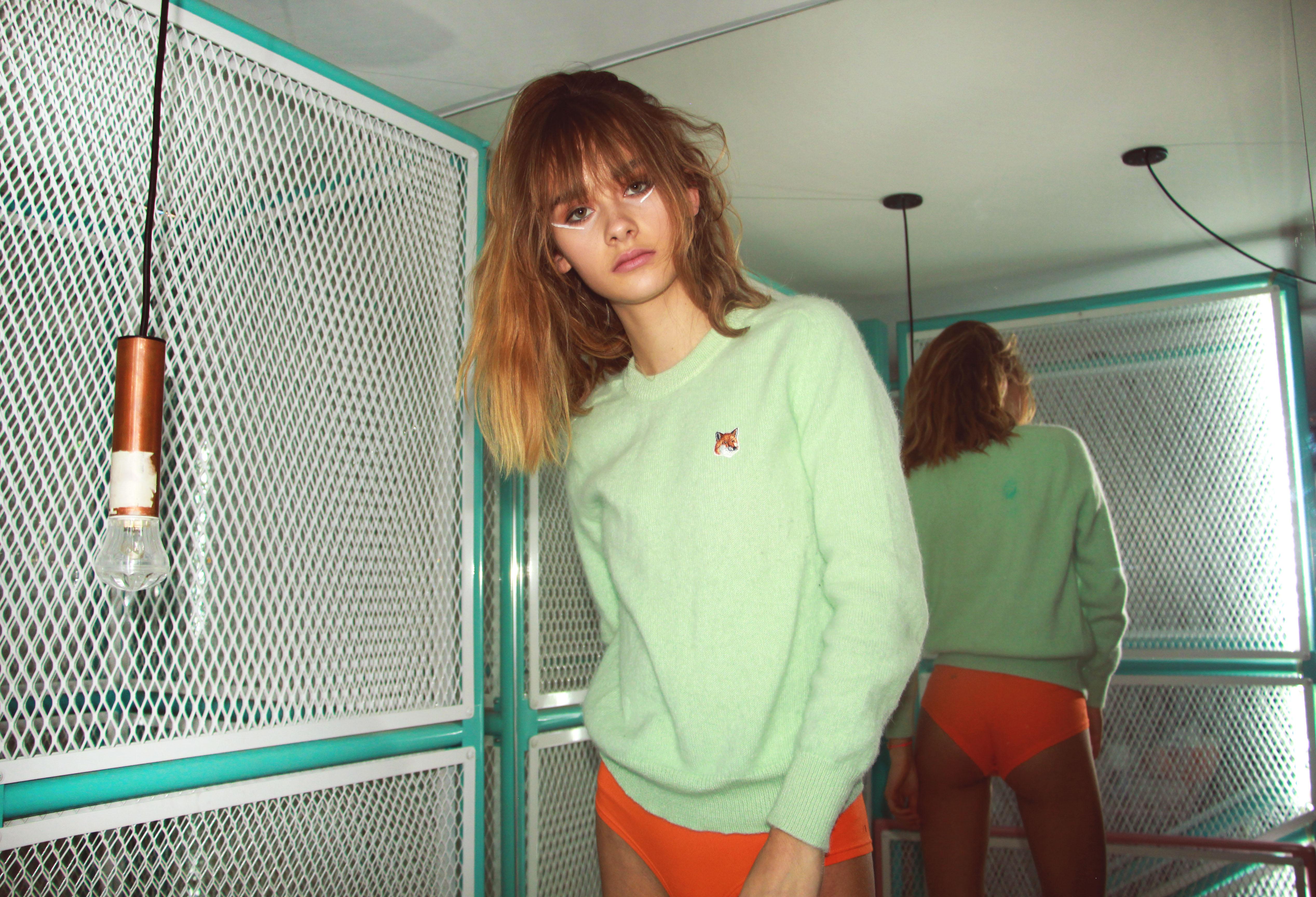 le dernier etage magazine fashion editorial mina storm camille jansen paris new york marais