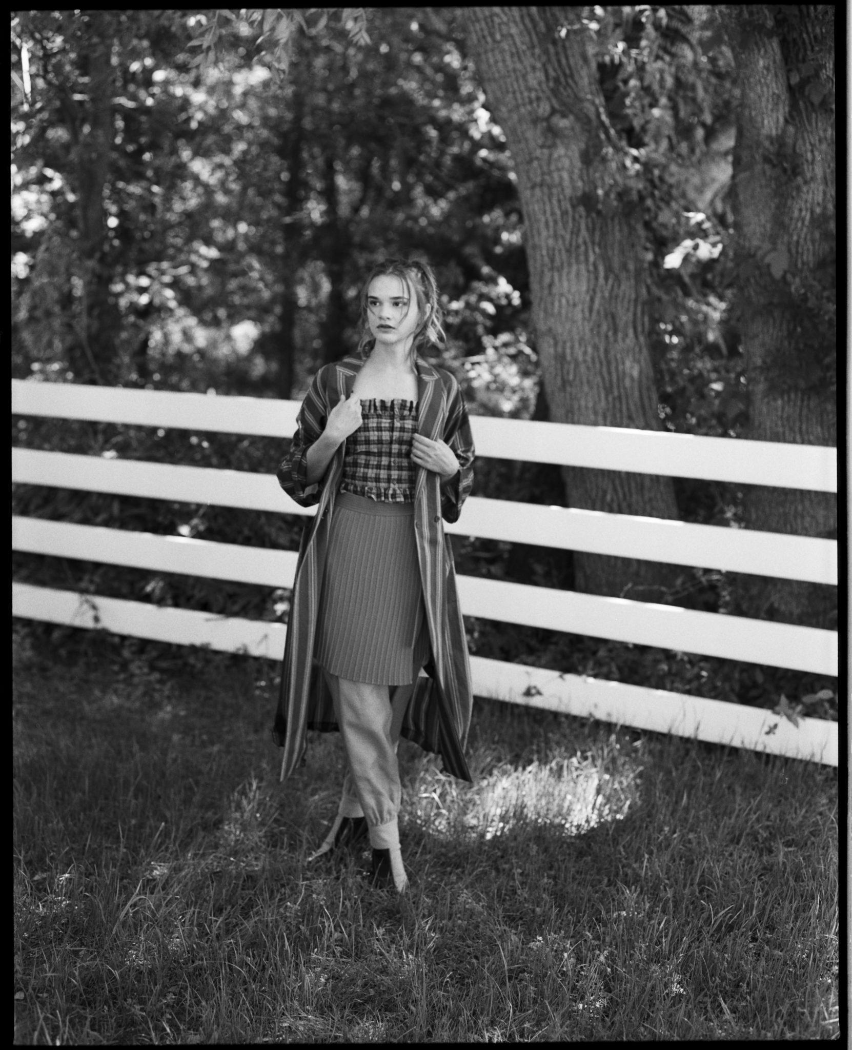 Farm Girl fashion story editorial jack lux le dernier etage magazine webzine photography
